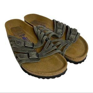 Birkenstock Granada Soft Sandals Sz 7-7.5
